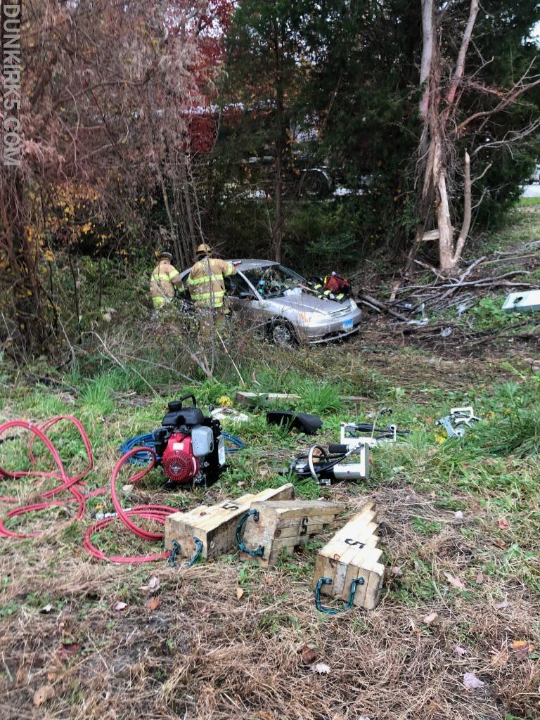 3 Flown from Serious Route 4 Accident - Dunkirk Volunteer Fire